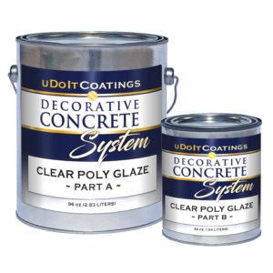 Clear Poly Glaze Sealer