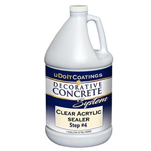 uDoIt Coatings Clear Acrylic Sealer